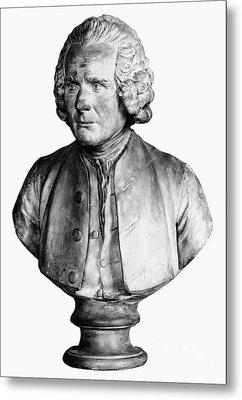 Jean Jacques Rousseau Metal Print by Granger