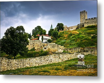Kalemegdan Fortress In Belgrade Metal Print
