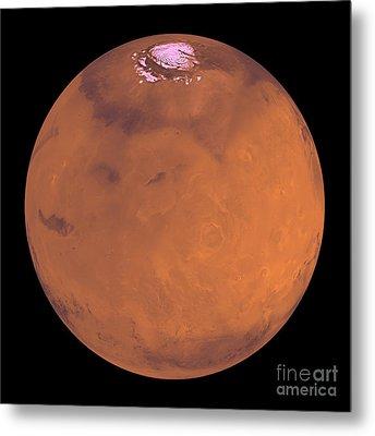 Mars Metal Print by Stocktrek Images