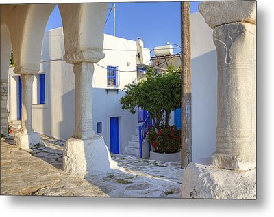 Paros - Cyclades - Greece Metal Print by Joana Kruse