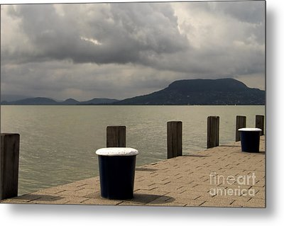 Port Landscape Metal Print by Odon Czintos