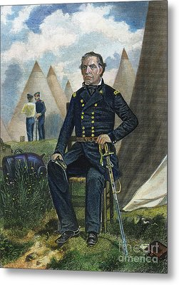 Zachary Taylor (1784-1850) Metal Print by Granger