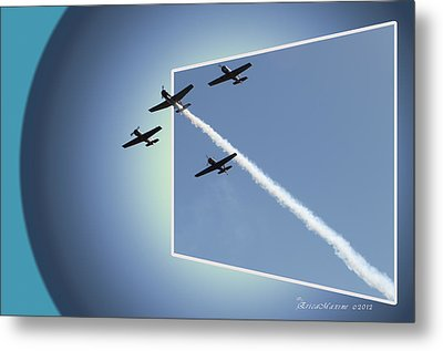 8027 Letting Off Steam Metal Print by EricaMaxine  Price