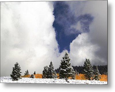Rocky Mountain Fall Metal Print by Mark Smith