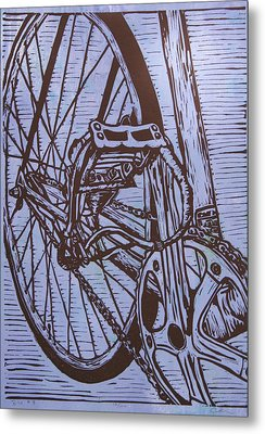 Bike 3 Metal Print by William Cauthern