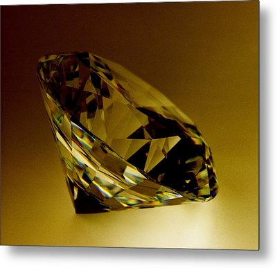Diamond Metal Print by Lawrence Lawry