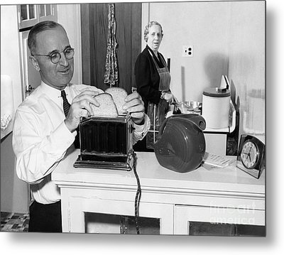 Harry S. Truman (1884-1972) Metal Print by Granger