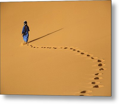 Merzouga, Morocco Metal Print by Axiom Photographic
