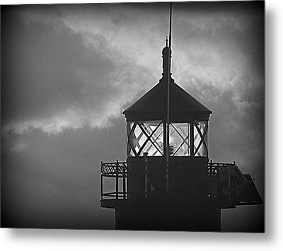 A Beacon In The Night Metal Print by Kay Novy