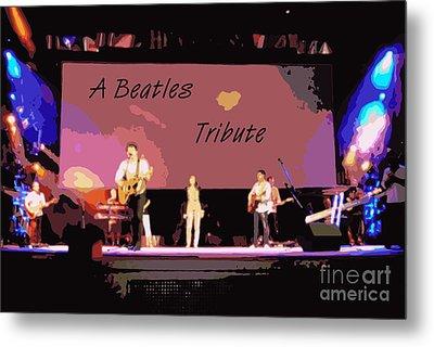A Beatles Tribute Metal Print by Renee Trenholm