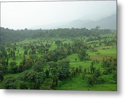 A Beautiful Green Countryside Metal Print