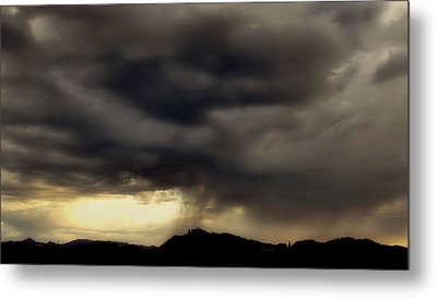 Metal Print featuring the photograph A Beautiful Storm by Katie Wing Vigil