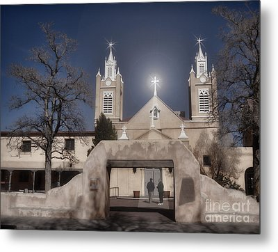 A Blessed Couple Metal Print by Donna Greene