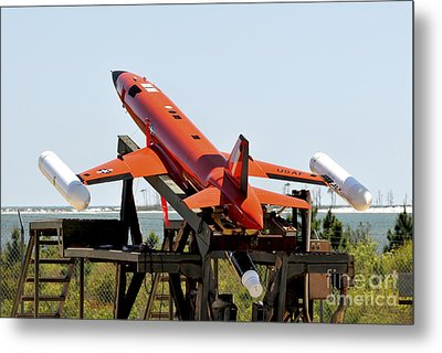 A Bqm-167a Subscale Aerial Target Metal Print by Stocktrek Images