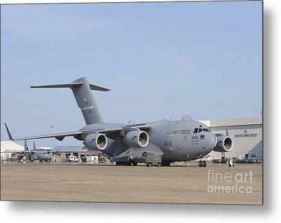 A C-17 Globemaster IIi Parked Metal Print by Stocktrek Images