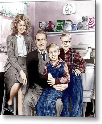A Christmas Story, From Left Melinda Metal Print by Everett