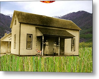 A Day In The Country  Metal Print by Welte A And T