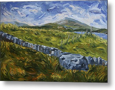 A Donegal Day Metal Print