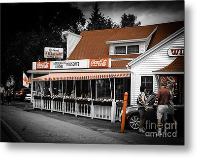 A Door County Institution Since 1906 Metal Print