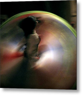 A Female Whirling Dervish In Capadocia Metal Print by RicardMN Photography