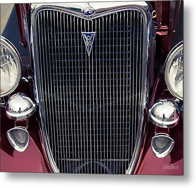 A Grill To Remember Metal Print by Steven Milner