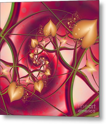 A Growing Love Metal Print by Michelle H