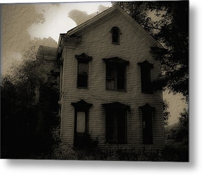 A Haunting Metal Print by DigiArt Diaries by Vicky B Fuller
