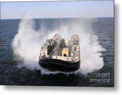 A Landing Craft Utility From Assault Metal Print by Stocktrek Images
