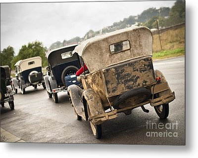 A Model Procession Metal Print by David Lade