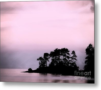 A Moment Of Tranquility Metal Print by Gail Bridger