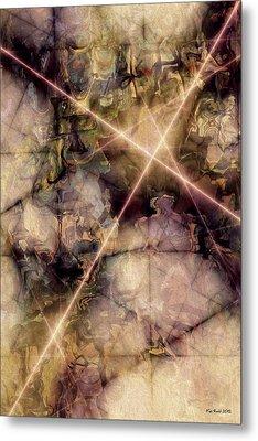 Metal Print featuring the digital art A New Beginning by Kim Redd