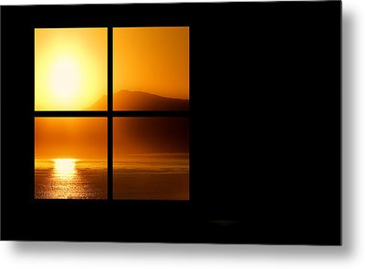 Metal Print featuring the photograph A New Day by Katy Breen