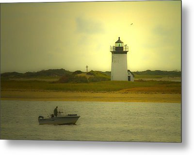 A New England Moment Metal Print by Karol Livote