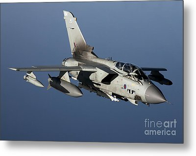 A Panavia Tornado Gr4 Of The Royal Air Metal Print by Gert Kromhout