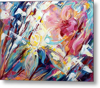 A Passion Of Flowers Metal Print