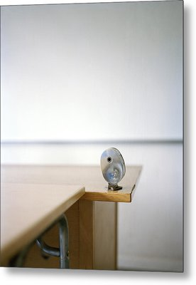 A Pencil-sharpener In A Classroom, Sweden Metal Print
