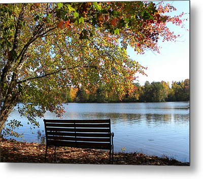 A Place For Thanks Giving Metal Print by Sandi OReilly