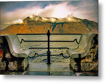 A Place For Two Metal Print by Joana Kruse