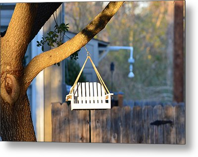 A Place To Perch Metal Print by Nikki Marie Smith