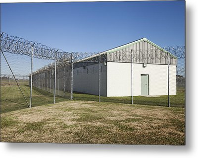 A Residential Unit Wing Or Dormitory Metal Print by Roberto Westbrook