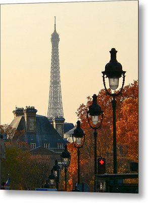 Metal Print featuring the photograph A Slice Of Paris by Eric Tressler
