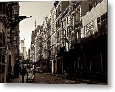 A Slice Of Soho Metal Print by Eric Tressler