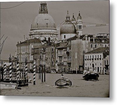 A Slice Of Venice Metal Print by Eric Tressler