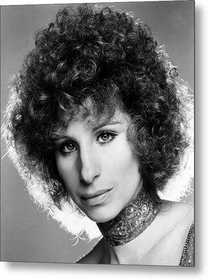 A Star Is Born, Barbra Streisand, 1976 Metal Print by Everett