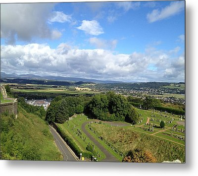 A Stirling View Metal Print by Michael McKenzie