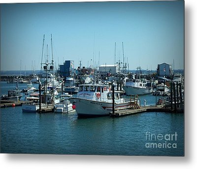 A Sunny Nautical Day Metal Print