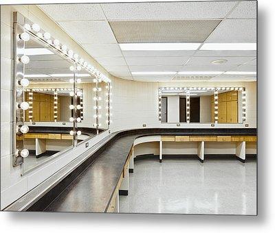 A Theater Dressing Room Metal Print by Greg Stechishin