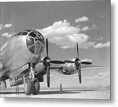 A U.s. Army Air Forces B-29 Metal Print by Stocktrek Images