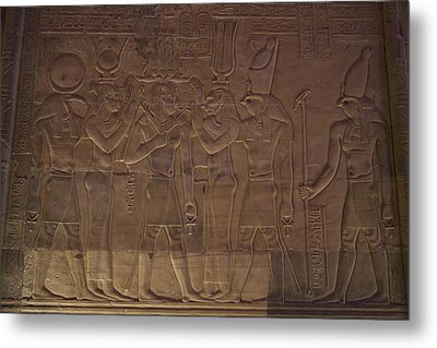 A Variety Of Gods Are Shown Depicted Metal Print by Taylor S. Kennedy
