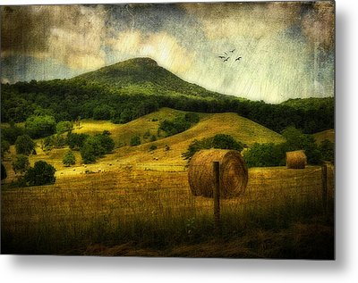 A View Of Jump Mountain Metal Print